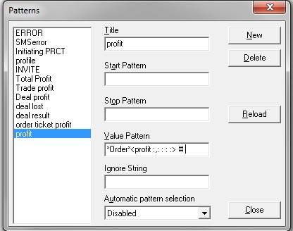 Log Analyzer uses regular expression for Log Pattern Analysis